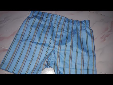 Cutting And Stiching Of Gents Simple Underwear Sikhe Asaan Tarike Se