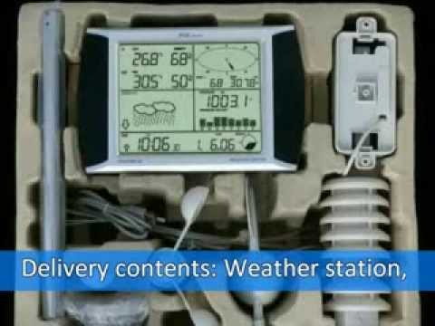Meteorological Weather station with touch screen from Jetstream India