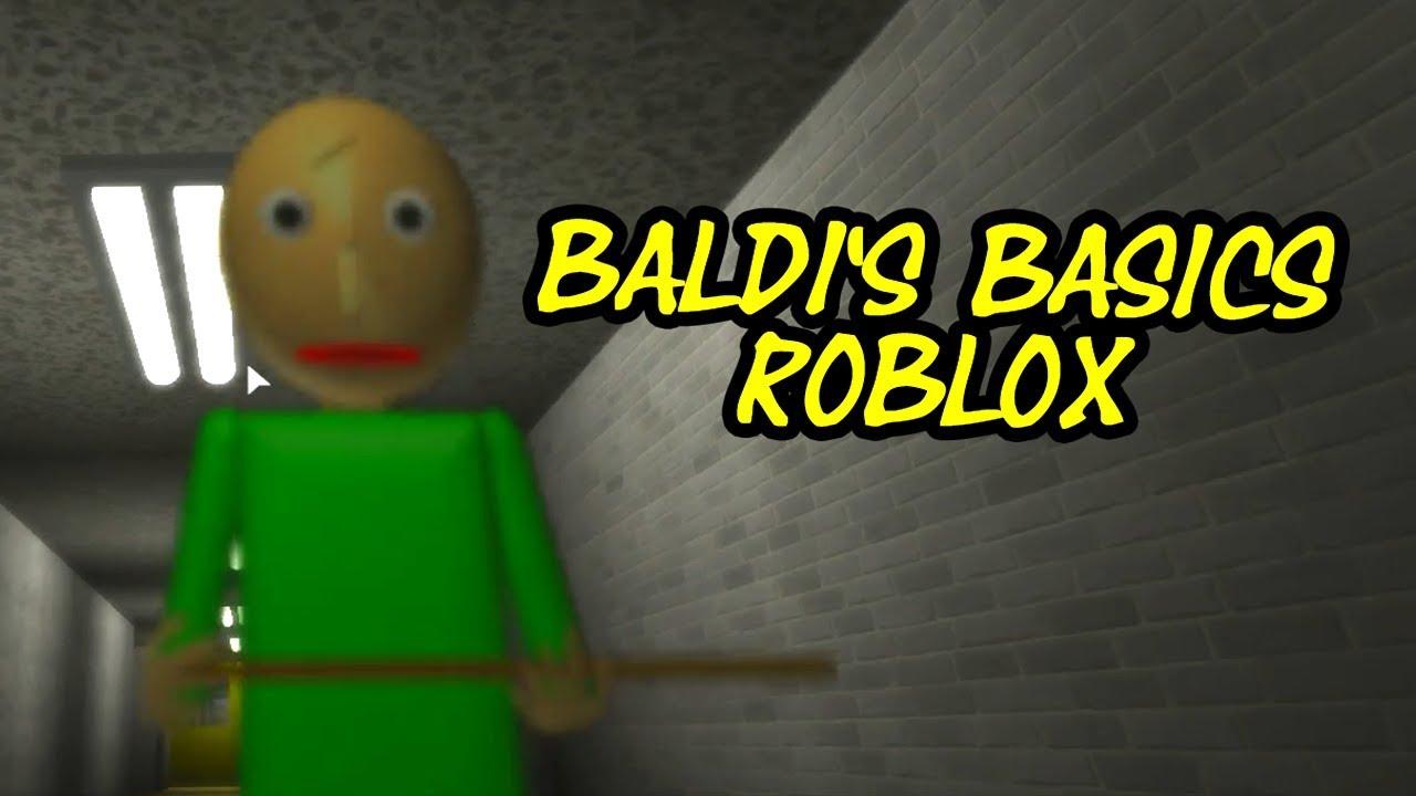 Puf Baldi Basic : Baldi s basic in education and learning roblox map youtube