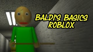 Baldi's Basic in Education and Learning Roblox Map