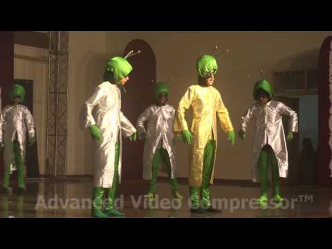 The Galactic Saga-Vista 2016 (St Joseph's, Bathinda-Spaceship Enters-Video-6)