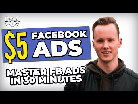 5$ Facebook Ads For Dropshipping In 2019   MASTER FB Ads For Shopify In 30 Minutes!
