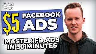 5$ Facebook Ads For Dropshipping In 2019 | MASTER FB Ads For Shopify In 30 Minutes!