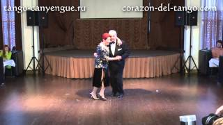 Martha Antón & Manolo «El Gallego» Salvador - 1 - Tango Canyengue. Fest «Corazón del Tango» (2014)