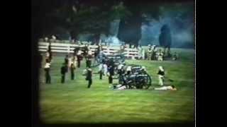 1961, 1st Manassas Battle Reenactment (part 1) (silent)