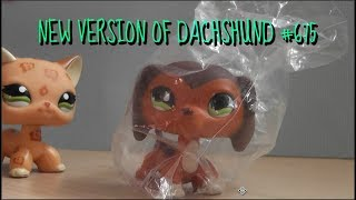 LPS - Opening + Reviewing NEW VERSION Fake Dachshund 675 and Fox 807!