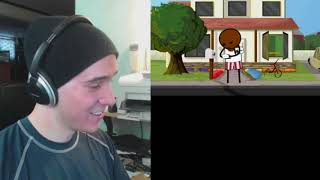 Reupload: THAT WAS RACIST! - Reacting to Speed Racist - Cyanide & Happiness Shorts by Charmx