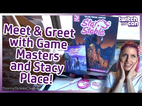 Star Stable Online Meet & Greet with Stacy Place, Game Master Ylva and Siri! #StarStableOnTheRoad