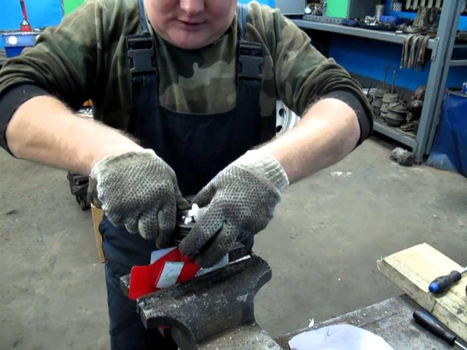 Сборка ШРУСа (внешней гранаты)