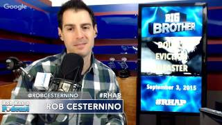Big Brother 17 Episode 32 Recap with Ian Terry | Thursday, Sept 3, 2015 after BB17 LIVE