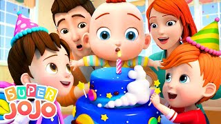 Happy Birthday Song | Swimming Song + More Nursery Rhymes \u0026 Kids Songs - Super JoJo