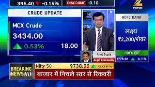 Commodities Live: MCX gold and silver prices recover from lower levels