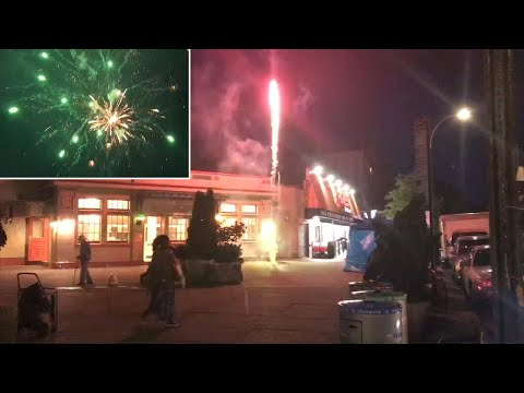 2 injured by illegal fireworks as complaints soar in NYC