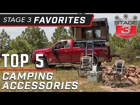 Top 5 Ford F150 Camping Accessories