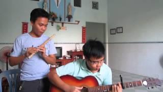 Ngày Xuân Long Phụng Xum Vầy - Guitar vs Sáo Trúc
