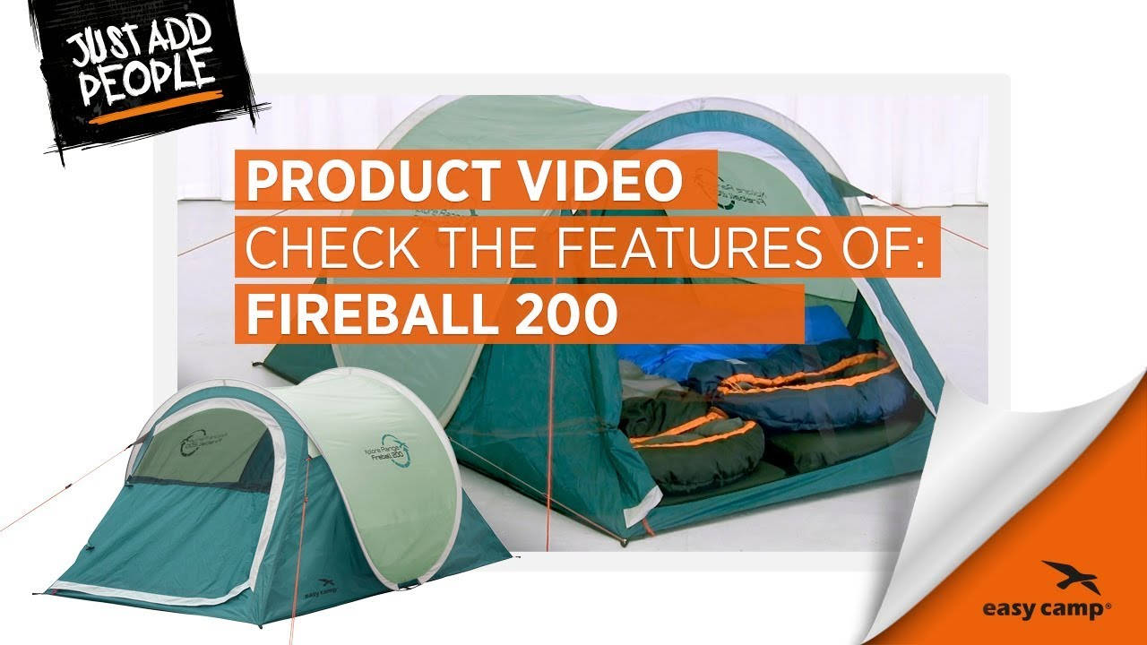 Easy Camp Fireball 200 Pop up Tält | GetCamping.se