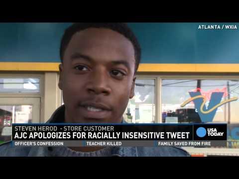 Newspaper pulls racist tweet on lottery winner