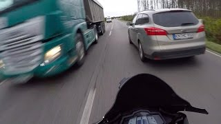 YZF R125   THROWBACK   LAST MOMENTS   DerDriver