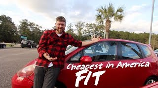 This is a Honda Fit for $3500 Cash in 2019!!! ( Reviewing a Small Car )