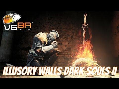 Dark Souls 2 ILLUSORY WALLS Secret Walls Invisible Walls Hidden Walls Dark Souls II