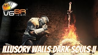 Dark Souls 2 ILLUSORY WALLS Secret Walls Invisible Walls Hidden Walls Dark Souls II