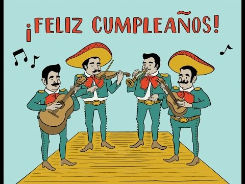 Happy Birthday Mexican Version Youtube