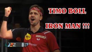 ЖЕЛЕЗНЫЙ TIMO BOLL НАСТОЛЬНЫЙ ТЕННИС. ПРОВАЛ LIN GAOYUAN настольный теннис