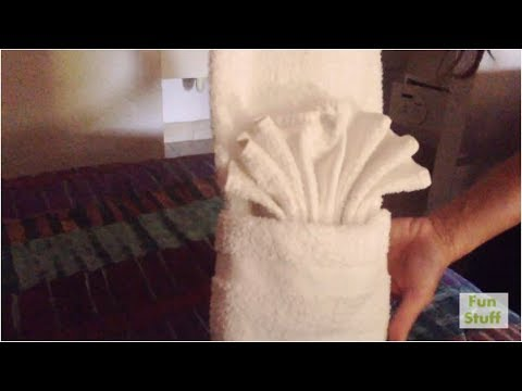 How To Fold Towels Like The Hotels Towels