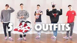 5 Easy Ways to Style the Air Jordan 6 Carmine | Outfit Ideas