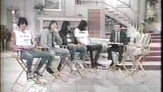 Ramones on the Regis and Kathy Lee show 1988