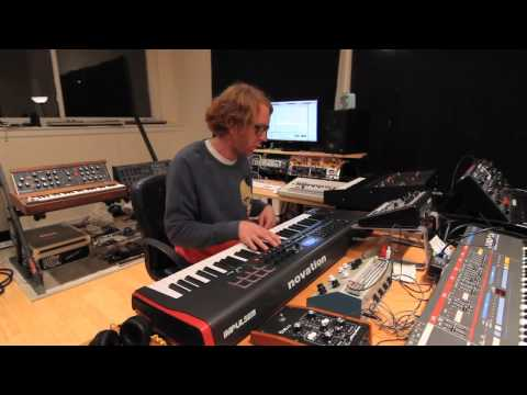 Nick Hook on Novation Impulse - Production Room