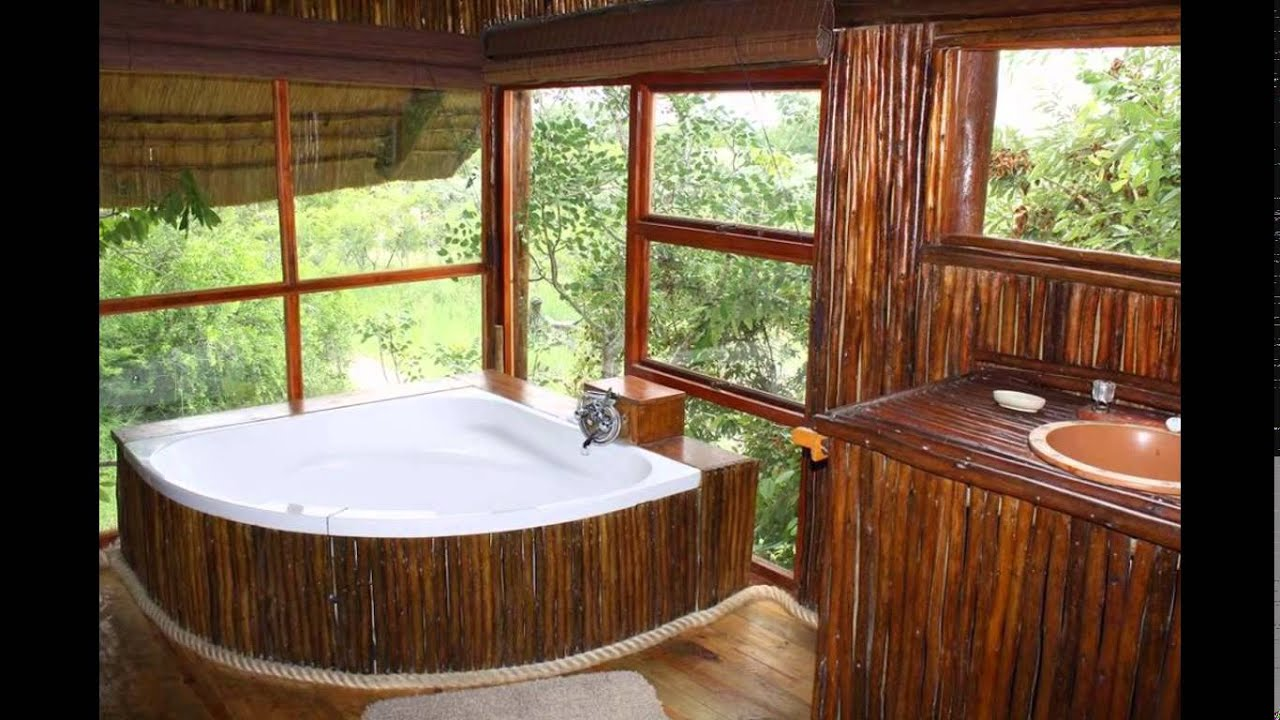 treehouse bathroom natural and interesting to you