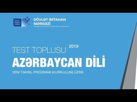 COĞRAFİYA 2-Cİ HİSSƏ TEST TOPLUSU CAVABLARI - 2019 (DİM)