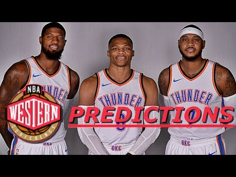 2018 NBA Western Conference Predictions!