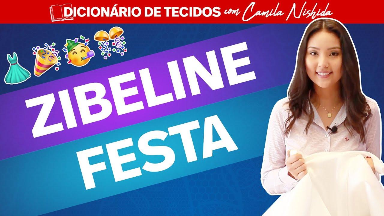 be9d3b85a ZIBELINE  O TECIDO PERFEITO PARA VESTIDOS DE FESTA - YouTube