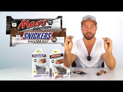 Meine Meinung zur Snickers und Mars Protein Variante