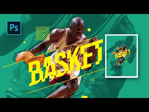 How to Make Professional Sports Poster Design in Photoshop - Photoshop Tutorials