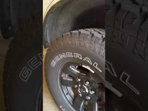 General Grabber At2 Tire Review Youtube
