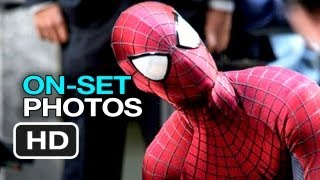 The amazing spider man 2 (2014) on-set photos - movie hd