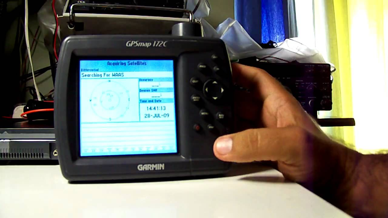 Garmin Gps Watch >> Garmin 172c - YouTube