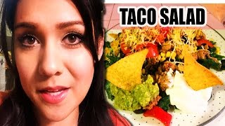 Taco 'bout A Salad! - #tastytuesday
