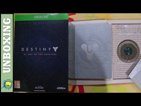 Destiny El Rey de los Poseídos - The Taken King Collector's Edition UNBOXING REVIEW