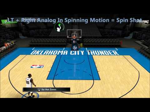 NBA 2K12 - How To Spin Shot