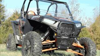 Polaris RZR XP 1000 Mud Flap Fender Extensions