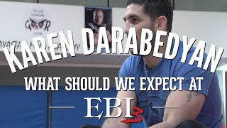 Karen Darabedyan How did you get invited to EBI 3 - 2 of 3