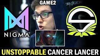 NIGMA vs SINGULARITY [Game 2] MIRACLE TB is back?  WePlay! Bukovel Minor DOTA 2