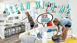 JULY ULTIMATE CLEAN WITH ME | REARRANGING ROOMS | TOY ORGANIZATION | Love Meg