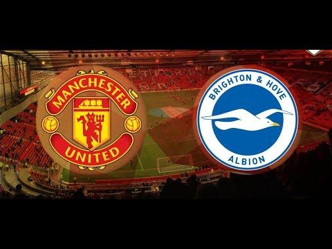 Manchester United vs Brighton Live Stream - Premier League 2019 Countdown+Stats HD
