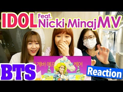 BTS (방탄소년단) IDOL feat. Nicki Minaj MV Reaction | Army有嘢港