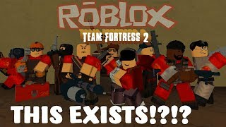 ROBLOX TF2 is apparently a thing